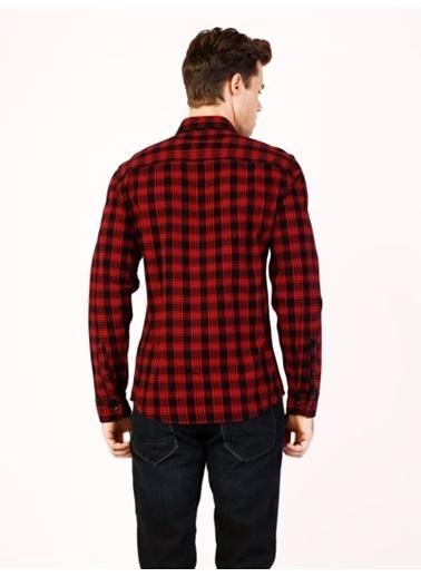 Kareli Uzun Kollu Gömlek-Colin's